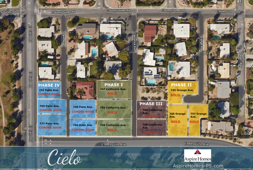 Aspire Homes Arial Map - Aerial view maps